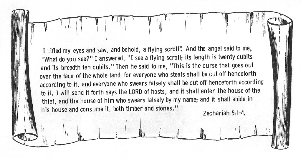 zechariah visions coloring pages - photo#41