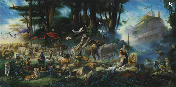 On the great flood of noah